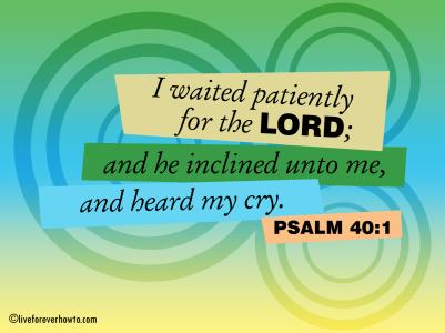 Psalm 40:1