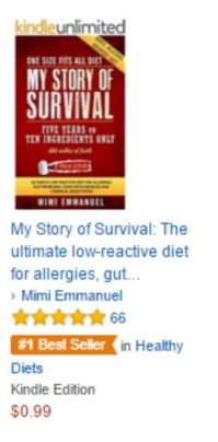 AAA AMAZON BESTSELLER MYSTORY OF SURVIVAL no 1 banner under HEALTHY DIETS 220216