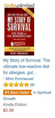 AAA AMAZON BESTSELLER MYSTORY OF SURVIVAL no 1 banner under SPIRITUAL GROWTH 220216