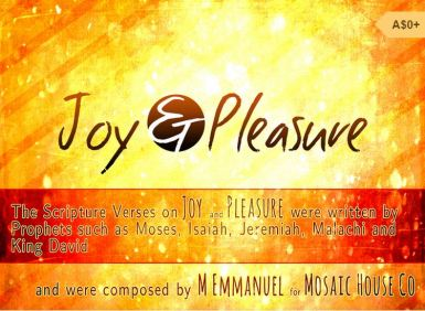 JOY AND PLEASURE COVER