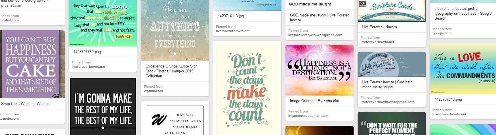 Live for ever how to at Pinterest