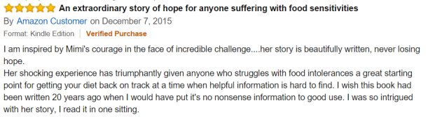 EXTRAORDINARY STORY OF HOPE AMAZON CUSTOMER