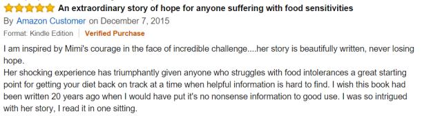 EXTRAORDINARY STORY OF HOPE AMAZON CUSTOMER