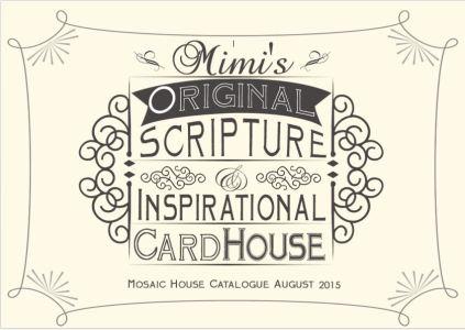 MOSAIC HOUSE CATALOGUE COVER 2015