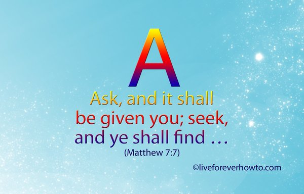 SCRIPTURE ALPHABET A