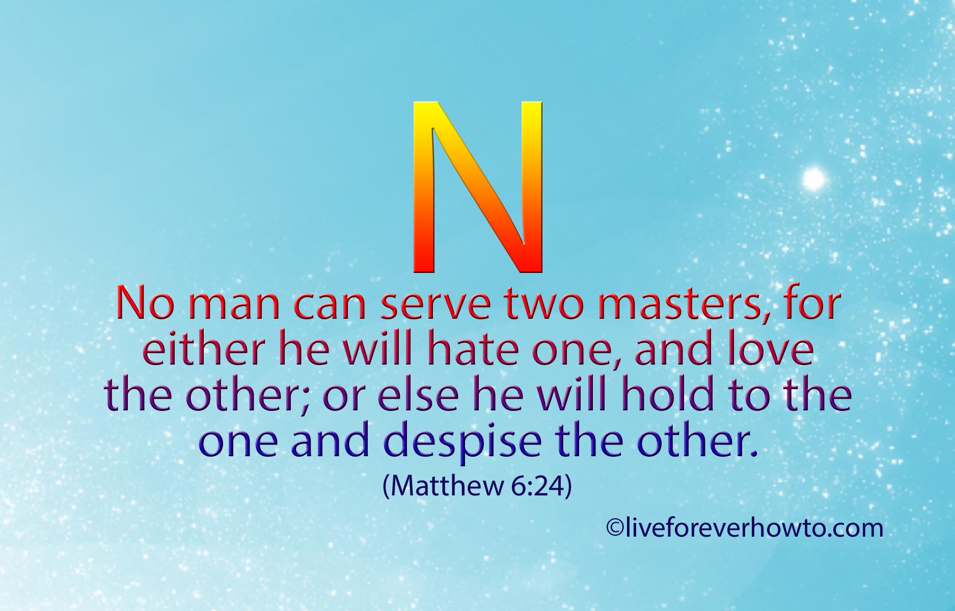 Bildresultat för Matthew 6:24