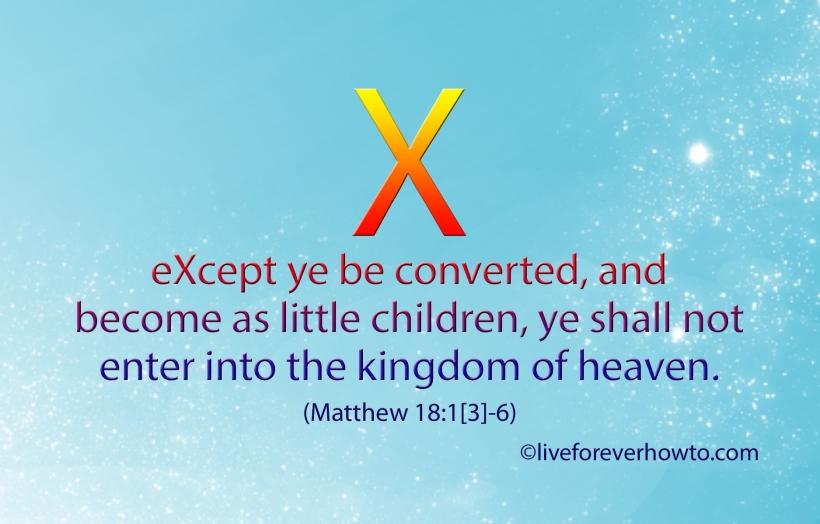Become as little children