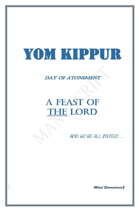 Yom Kippur Day of Atonement