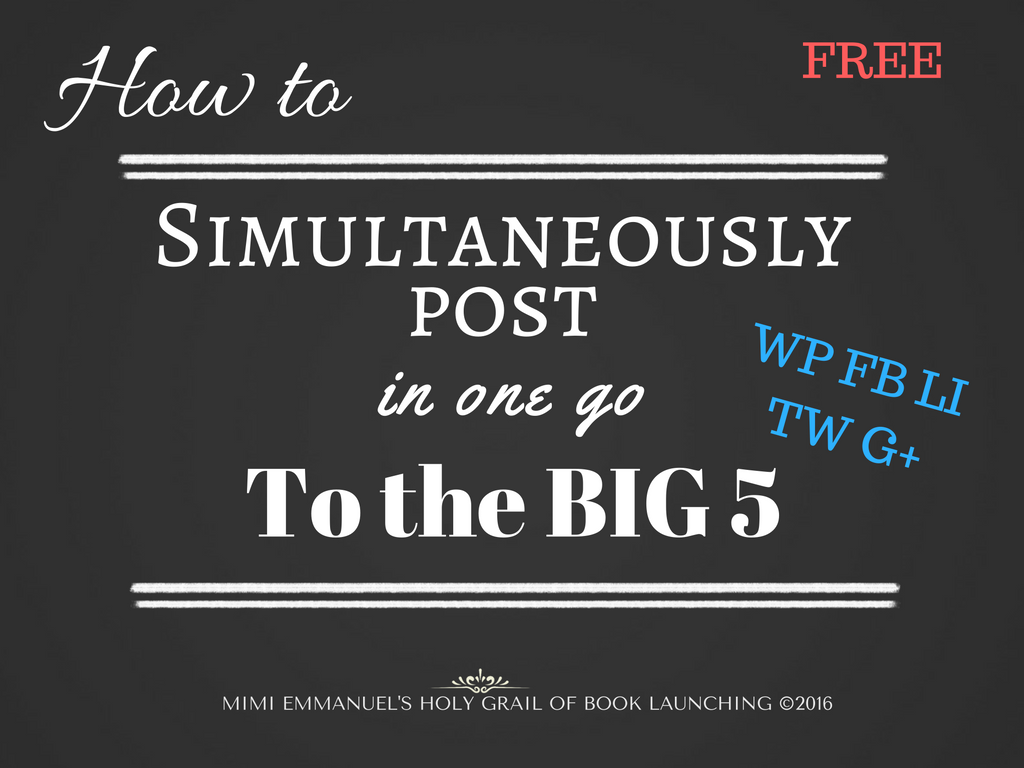 Quick and easy free tutorial kit for successful authors