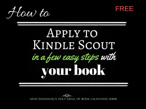 How to apply to Kindle Scout by Vivi Stutz and Mimi Emmanuel