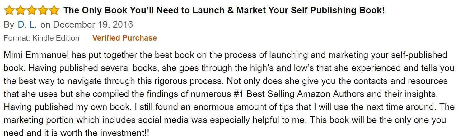 The Holy Grail of Book Launching review