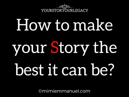 SLIDESHOW YOUR STORY IS YOUR LEGACY