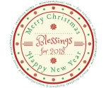Merry Christmas, Blessings for 2018 and a Happy New Year
