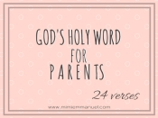 24 Scripture Verses for Parents